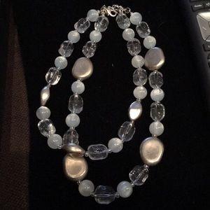 Premier Designs double strand necklace nwot